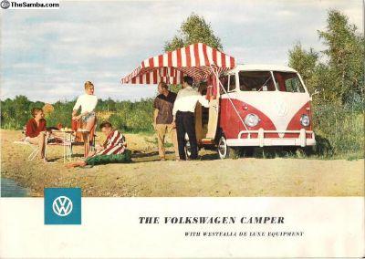 1959 SO23 Westfalia Camper Bus Sales Brochure