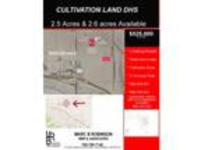 Cultivation Land- Little Morongo- 665-350-024
