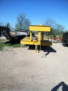$2,950, Yellow 18 gooseneck w dove tail