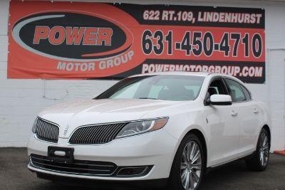 2014 Lincoln MKS Ecoboost (White Platinum Metallic Tri-Coat)
