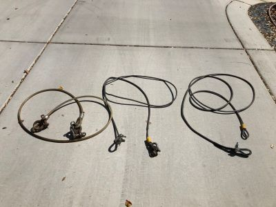 3 TOWING CABLES