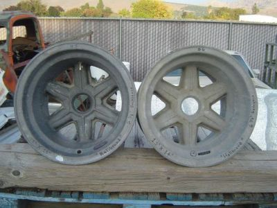 """Find MAGNESIUM HALIBRAND 15""""X 14"""" INDY-500 SPEEDWAY WHEELS..A.J. FOYT..GASSER..SPRINT motorcycle in Porterville, California, United States, for US $899.00"""