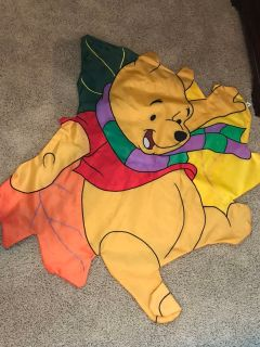 winnie the pooh outdoor fall flag