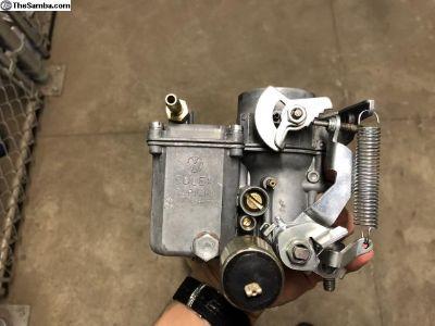 SOLEX 34PICT-3 Carburetor - German - rebuilt