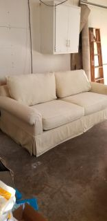 Couch with Pullout Queen Sleeper