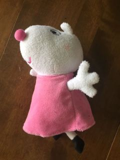 Suzy sheep from Peppa Pig