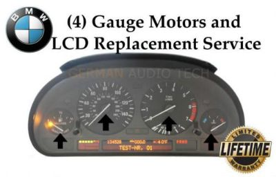 Find BMW POINTER MOTOR INSTRUMENT SPEEDOMETER CLUSTER REPAIR SERVICE E39 E53 X5 E38 motorcycle in Long Beach, California, United States, for US $249.95