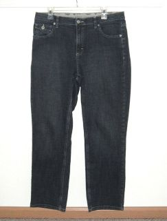 Lee Riders Comfort No Gap Waistband Straight Flap Pkt Jeans 14 Measures 34 x 29
