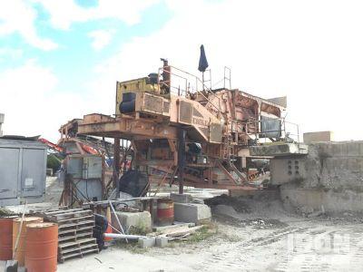 Eagle 62D321 Portable Impact Crusher Plant