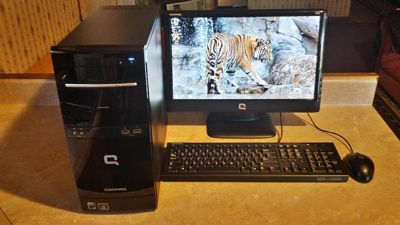 $150, For Sale Compaq Presario CQ5110Y Desktop Computer