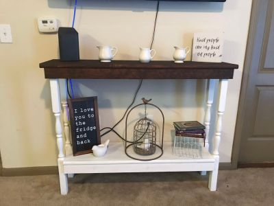 Farmhouse style Entry/Sofa Table