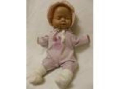 Vintage Crying Baby Doll 14""