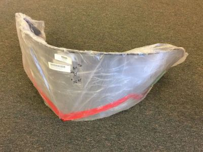 Find 2005 Arctic Cat T660 Turbo ST Windshield Chrome with Red 3606-475 Medium motorcycle in Newport, Vermont, United States, for US $99.95