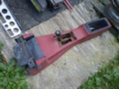 Parts For Sale: 1974-1981 Camaro Z28 Firebird Trans Am Red Automatic Console 455 454 400 350 OEM WITH SHIFTER