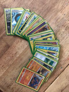 26 poke mom cards