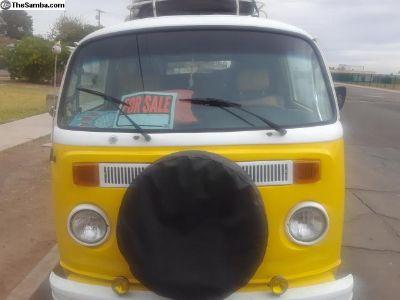 nice 1977 vw bus