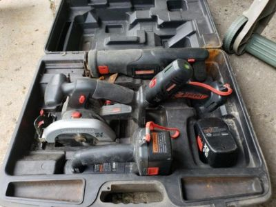 Craftsman Rechargeable Tool Set