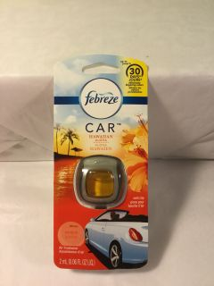 Febreze Hawaiian aloha car vent air freshener clip