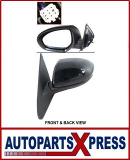 Purchase MAZDA 3 10-11 MIRROR LH, Power, Heated, w/o Signal Lamp, w/ Cover Paint to Match motorcycle in Oakland, California, US, for US $78.92