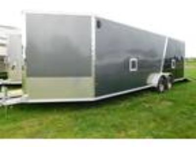 2018 Miscellaneous Alcom 7-Wide Snowmobile Trailers EZES7x24
