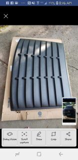 Rear window louver for ford mustang