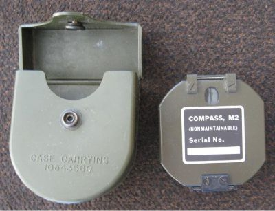 *~~~ Compass Ainsworth Military with Carrying Case ~~~*