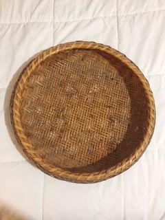 Wicker Tray / Basket