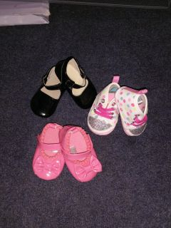0-3 months girls shoes