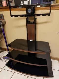 3 Tier Glass TV Stand Mount