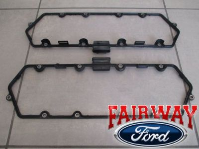 Buy 99 thru 03 F250 F350 FSD OEM Ford 7.3 Diesel Powerstroke Valve Cover Gasket PAIR motorcycle in Canfield, Ohio, United States, for US $159.95