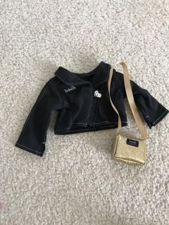 American Girl Doll Isabelle jacket and purse