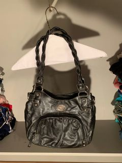 Rosetto black purse like new with wallet