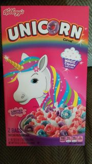 DOUBLE BOX ~ Kellogg's Unicorn Cereal - Offer 2 of 3