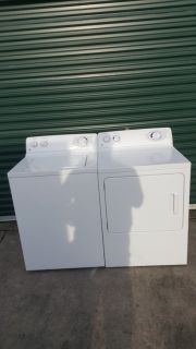 GE washer & dryer (free delivery) credit card accepted
