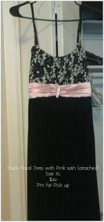 $20, PinkBlack Dress