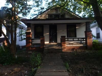 2 Bed 1 Bath Foreclosure Property in Evansville, IN 47713 - Jefferson Ave