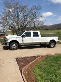 2012 Ford F-350 Lariat 4 Wheel Drive White