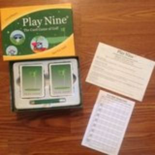 Play Nine The Card Game of Golf Complete