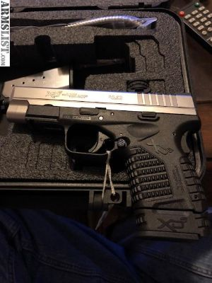 For Sale/Trade: BNIB Springfield XDs 45 caliber with 2 magazines and original box. 4 inch. Stainless.