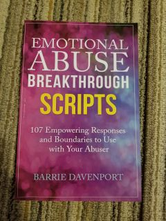Emotional abuse breakthrough scripts book