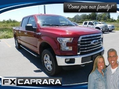 2016 Ford F-150 XLT (Race Red)