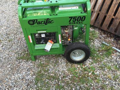 7500 Diesel Generator