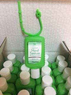Case of 24 clip on hand sanitizers