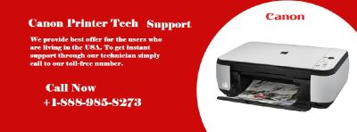 Get Canon Printer Tech Support Number +1-888-985-8273 for any type of issues