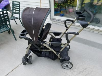 Graco sit and stand double stroller