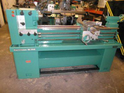 $4,250, Reconditioned Harrison Lathe M300