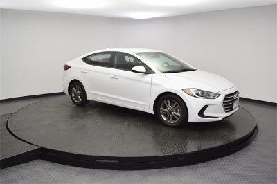 2018 Hyundai Elantra (white)