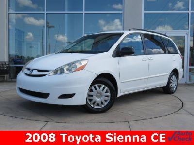 2008 Toyota Sienna CE 7-Passenger (White)