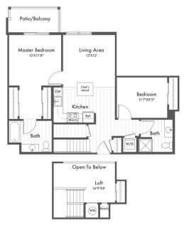 $7380 2 apartment in Morristown