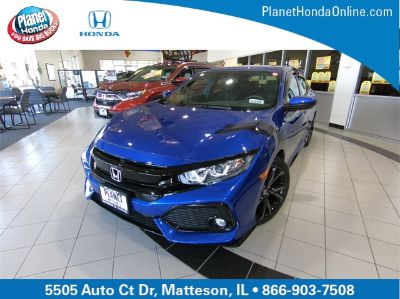 2018 Honda Civic Sport (Aegean Blue Metallic)